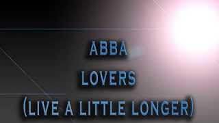 ABBA-Lovers (Live A Little Longer) [HD AUDIO]
