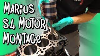 Marius S4 Motor - Die Montage bei BP Motorentechnik!   Philipp Kaess  