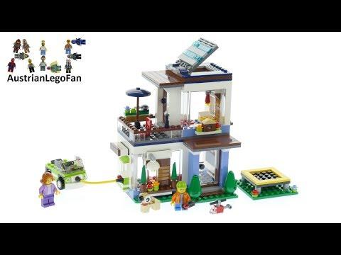 Vidéo LEGO Creator 31068 : La maison moderne