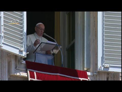 """""""La grâce de Dieu surprend ...""""Angélus du 8 juillet 2018"""