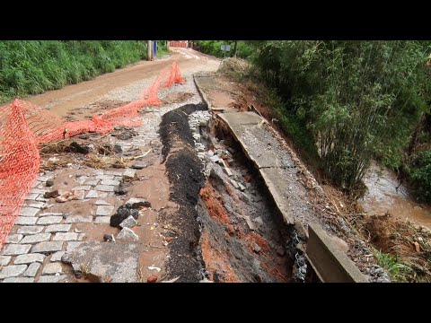 Distrito de Amparo tem maior número de afetados por temporal em Friburgo; veja
