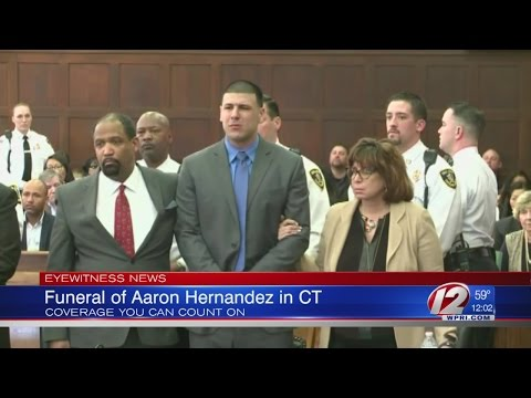 Aaron Hernandez Laid to Rest in Connecticut