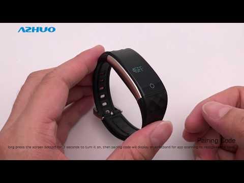 S2 Smart Band Wristband Bracelet Heart Rate Pedometer Sleep Fitness Tracker