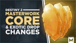 Destiny 2: Forsaken - Masterwork Cores + Exotic Drop Changes, Dungeon Cycle & Primeval Buff Info