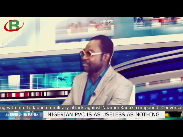 IPOB: NIGERIAN PVC IS AS USELESS AS NOTHING