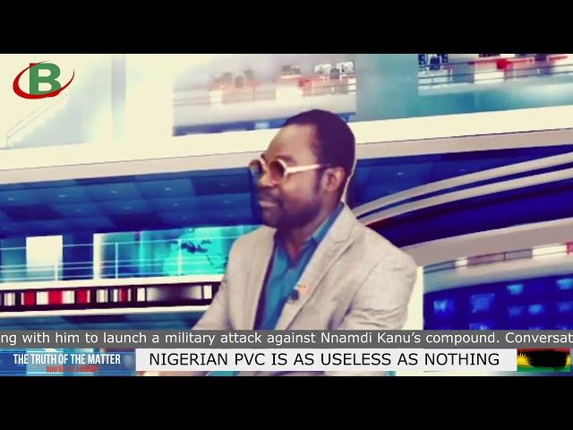 IPOB: NIGERIAN PVC IS AS USELESS AS NOTHING