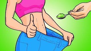 Как Убрать Жир с Живота и Бедер Всего с 1 Столовой Ложкой Этого Напитка в День