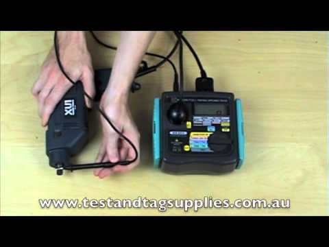 Video Review of Kyoritsu 6201A Portable Appliance Tester