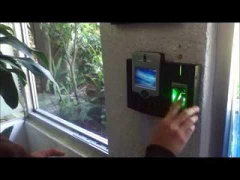 zk iclock880 control de acceso mas completo checador demo
