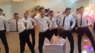 Taniec Dla Panny Młodej  BEST EVER ! Polish Team!Czikago!Wedding Dance ;)Groomsmen Dance-Surprise