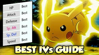 How To Get The BEST IVs For Pokemon in Pokemon Sword and Shield   Hyper Training Guide