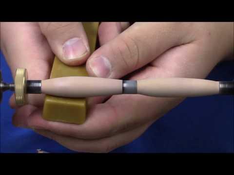 Edler Zwetschgen Holz Kugelschreiber drechseln/diy/Drechseln