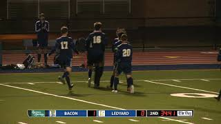 Boys' soccer highlights: Ledyard 3, Bacon 1