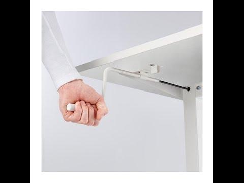 IKEA SKARSTA Sit / Standing Desk (Unboxing + Assembly + Test)
