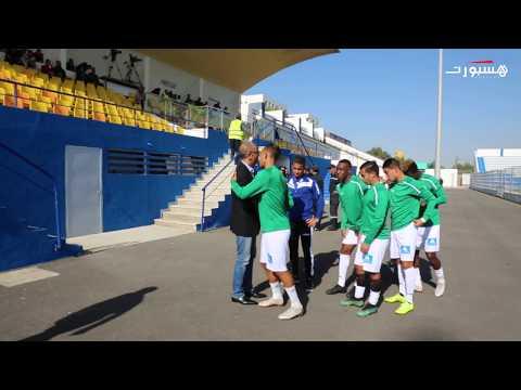 العرب اليوم - شاهد: الزيات يُشجّع لاعبي