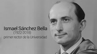 Faleceu Ismael Sánchez Bella, primeiro Reitor da Universidade de Navarra