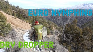 Euro Nymphing: Up and Across + Dry Dropper