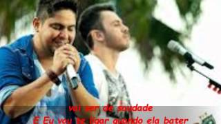 Jorge e Mateus - Se eu chorar (Letra)