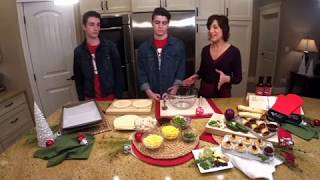 Facebook Live Holiday Appetizers Dec 4 2018