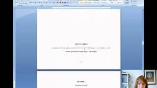 How to Number Pages in Your Thesis with Word