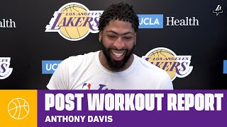 """AD says he's """"100% healthy"""" after the hiatus and ready to return to competition 