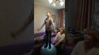 Прикол с шаром feetball