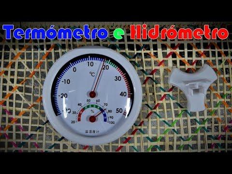 Termómetro e Higrómetro (Unboxing + review)