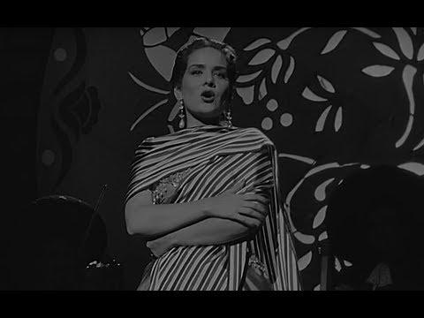 Rosita Quintana en la película A Los Cuatro Vientos (1955)   TELE N