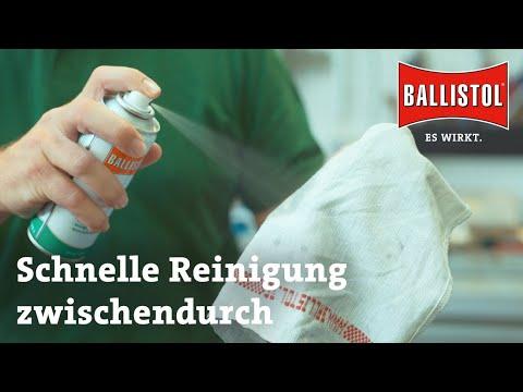 ballistol: Waffenreinigung mit BALLISTOL − Teil 3: Die schnelle Reinigung für zwischendurch. Mit Video Tutorial.