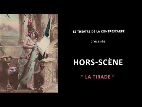 Découvrez le « HORS-SCÈNE • LA TIRADE » d'Amandine ROUSSEAU, autrice, metteuse en scène et...