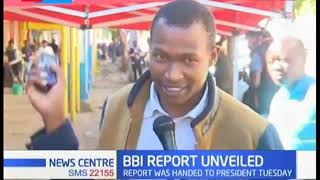 Mixed reactions from Eldoret residents on BBI report with gender clause causing the row