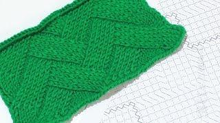 Вязание плетенка спицами схемы и описания
