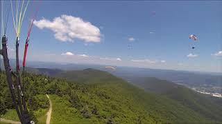 Paragliding - Greylock, MA - July 4th, 2018