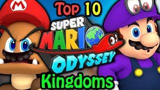 top 10 super mario odyssey kingdoms