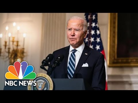 Biden Delivers Remarks At Virtual Event With House Democratic Caucus | NBC News