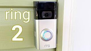 Ring 2 Video Doorbell - Unboxing & Installation - Amazing Home Gadget!