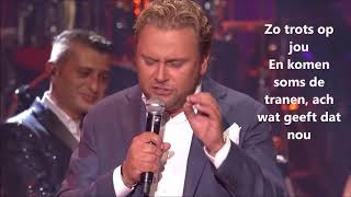 Wesly Bronkhorst   Trots Op Jou (lyrics)