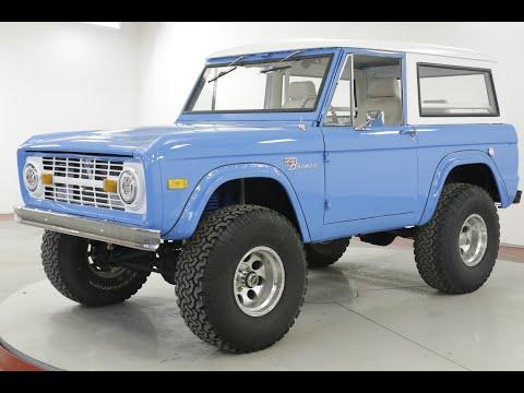 Video of '67 Bronco - QW5D
