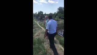 Драка с полицией на Северном кладбище Ростова-на-Дону