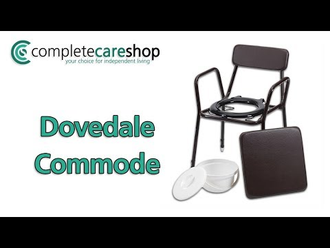 Dovedale Adjustable Commode Demo