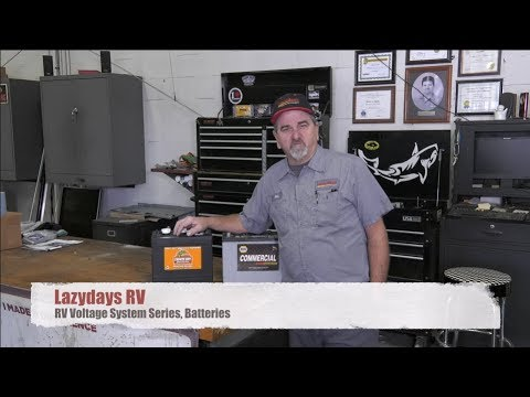Lazydays RV Service: Voltage System Series – RV Batteries