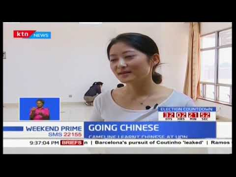 Going Chinese: Cameline, UON student takes up Chinese language