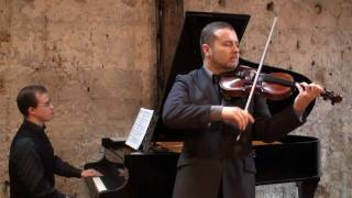 Prelude et allegro  F. Kreisler - David Galoustov violon -Praeludium and AllegroJulien Gernay piano