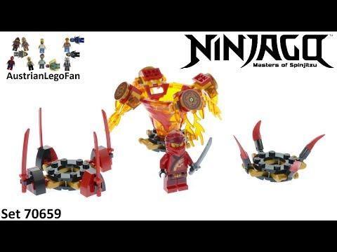 Vidéo LEGO Ninjago 70659 : Toupie Spinjitzu Kai