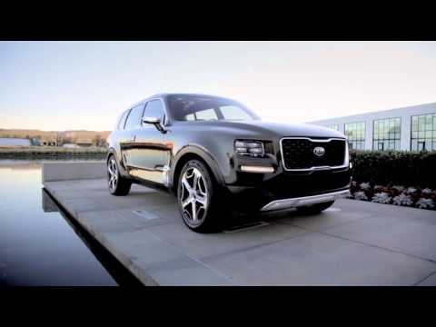 Kia Telluride Concept Action Preview Trailer | AutoMotoTV