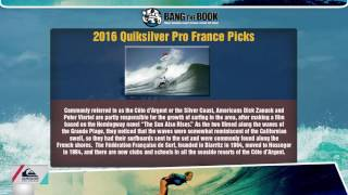 Quiksilver Pro France Picks - World Surfing League Odds