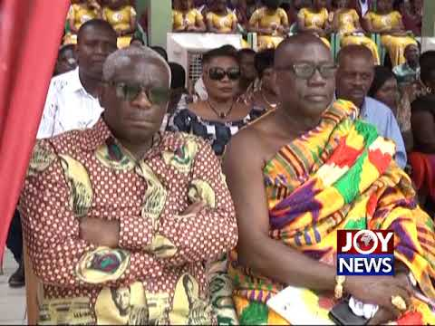 Double Track system will create more space - Pres. Akufo-Addo. (30-07-18)