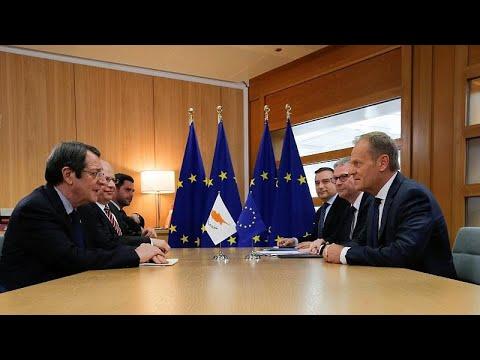 Ο Πρόεδρος Αναστασιάδης ενημέρωσε Τουσκ και Μέρκελ για τις τουρκικές προκλήσεις…