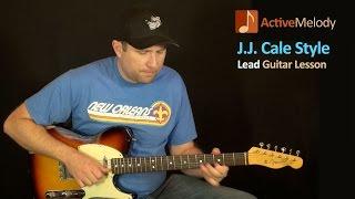J.J. Cale Style Guitar Lesson – Simple Blues Guitar Lesson – EP103
