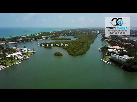 Port Royal Champney Bay and Old Harbor Cove Real Estate Flyover in Naples, Florida